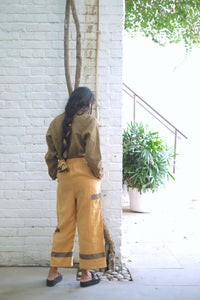 SUNGOLD ASYMMETRIC PANTS
