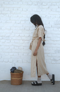 DESERT STONE KNOTTED DRESS