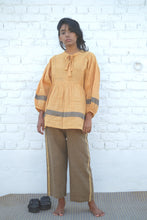 SUNGOLD NECK TIE TOP