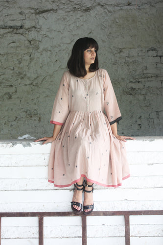 BASIC JAMDANI DRESS