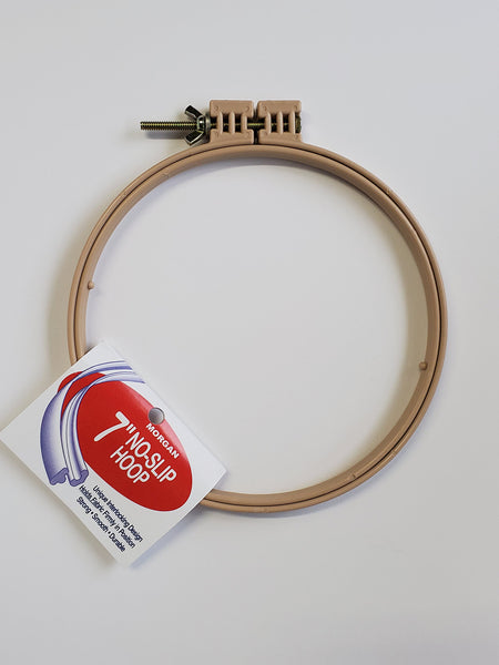 No-slip Hoops for punch needle