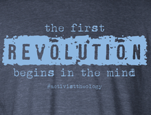The First Revolution Begins in the Mind Hoodie - GRUNGE