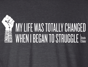My Life Was Totally Changed When I Began to Struggle Racerback Tank