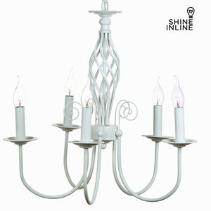 5 arms white lamp by Shine Inline