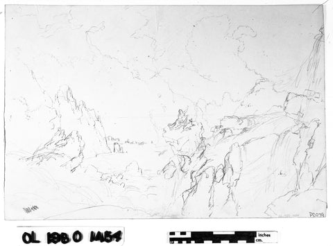 Study for The Deluge (fig. 10)