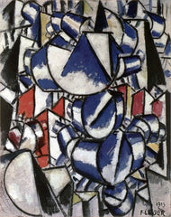 Contrast of Forms, 1913, Fernand Léger, Courtauld Gallery, London