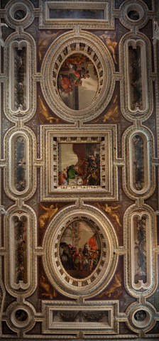 Restored painted ceilings by Veronese, San Sebastiano, Venice, from Save Venice website