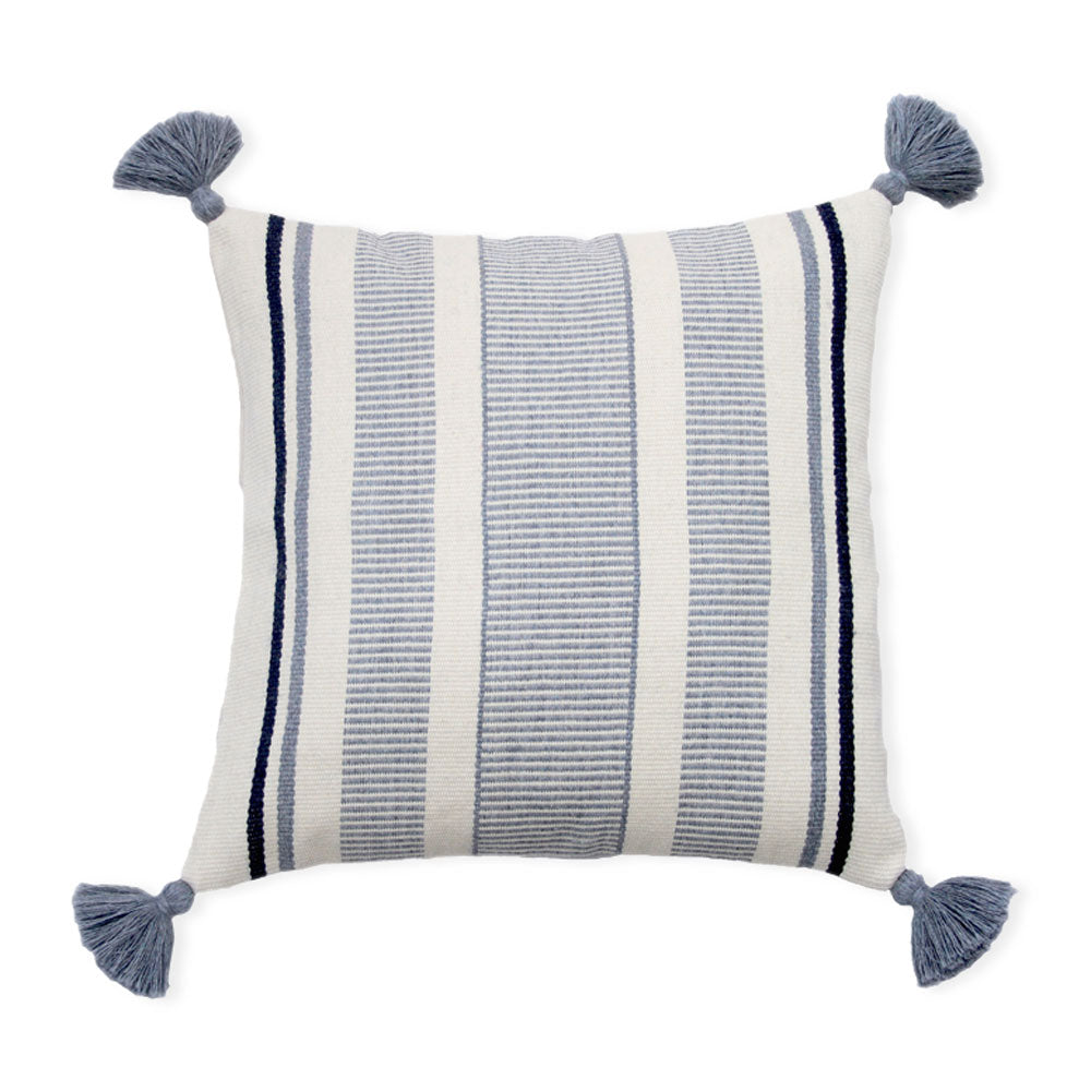 Pais Textil Light Blue Cierre Alpaca Pillow Cover