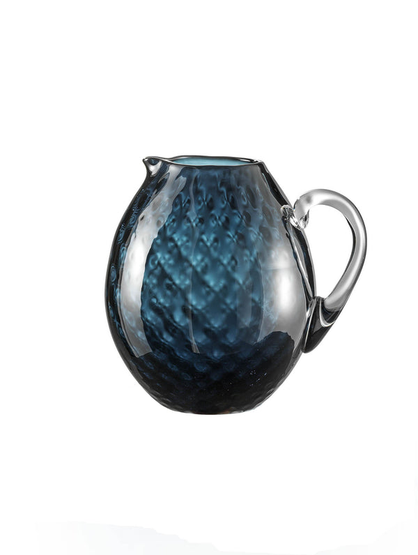 Nason Moretti Air Force Blue Idra Pitcher