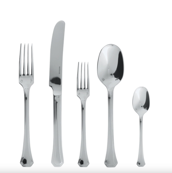 Sambonet Deco Stainless Steel Flatware Set