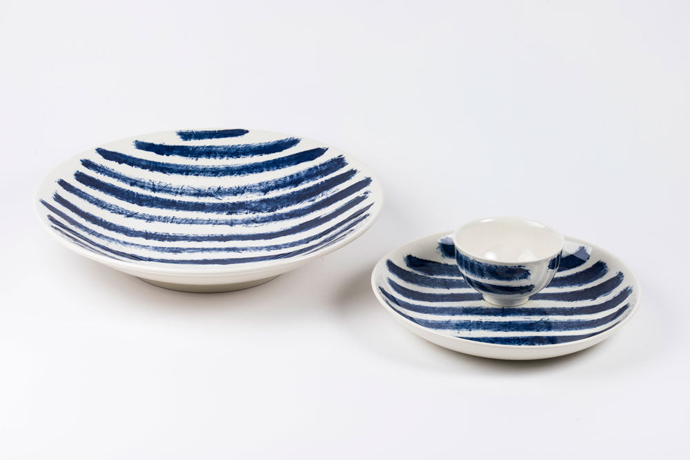1882 Ltd. Indigo Rain - Pasta Bowl