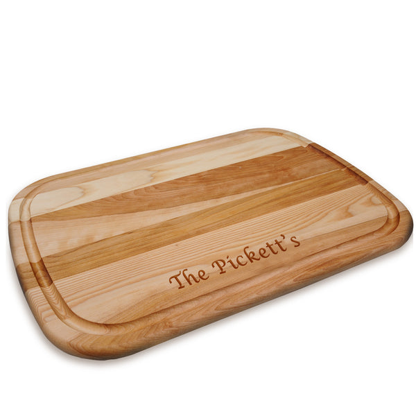 Large Wooden Artisan Cutting Board
