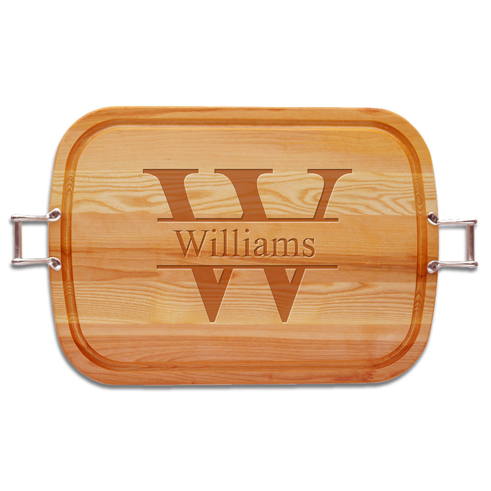 Statement Wooden Serving Tray