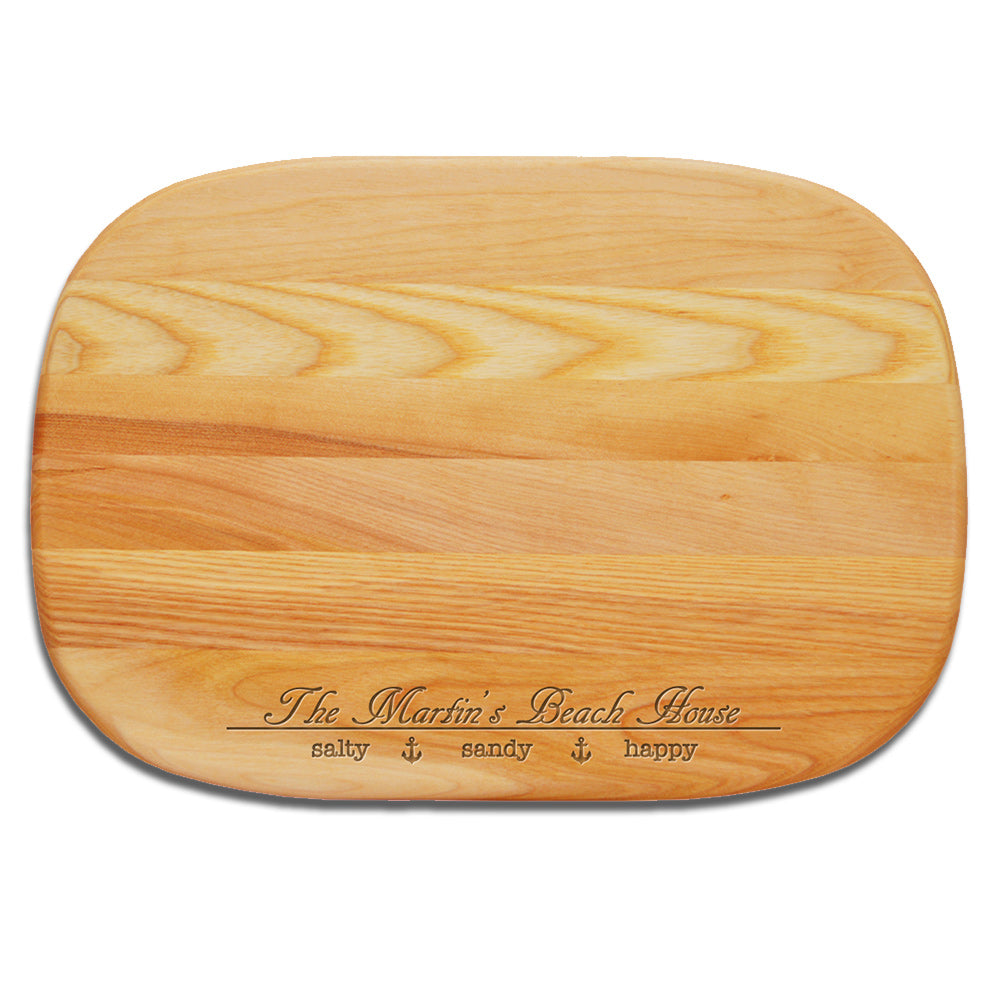 Beach House Wooden Cutting Board