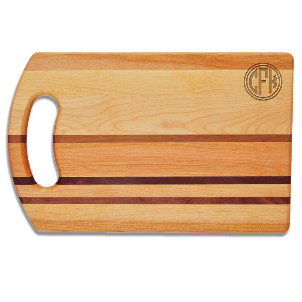 Corner Circle Cutting Board