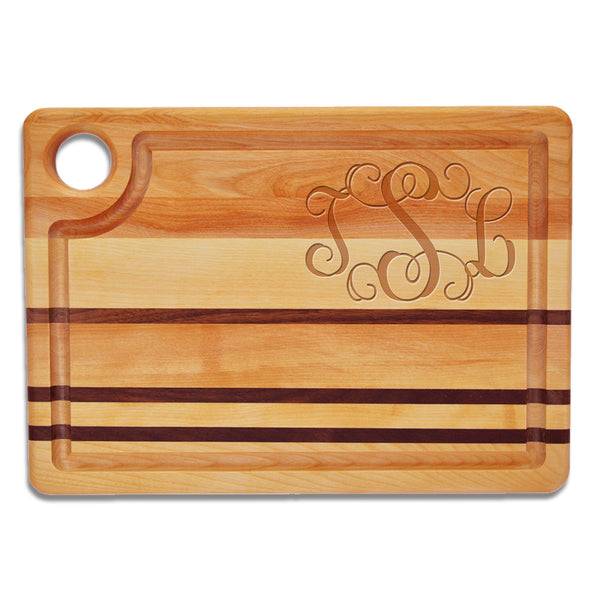 Monogram Steak Cutting Board