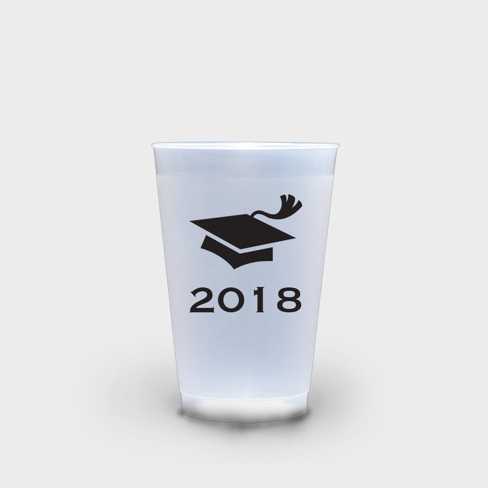 Graduation Cap Roadie Cups 16 oz