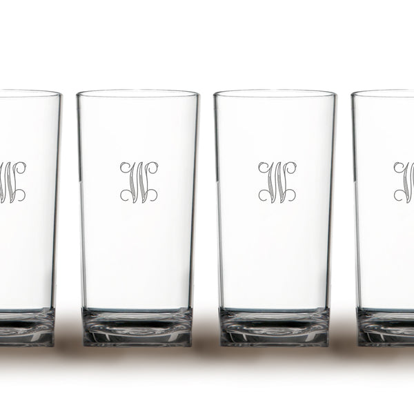 Etched Acrylic Highball Beverageware