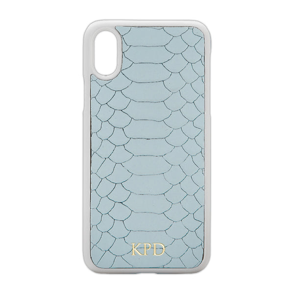 Ice Python Leather iPhone Case
