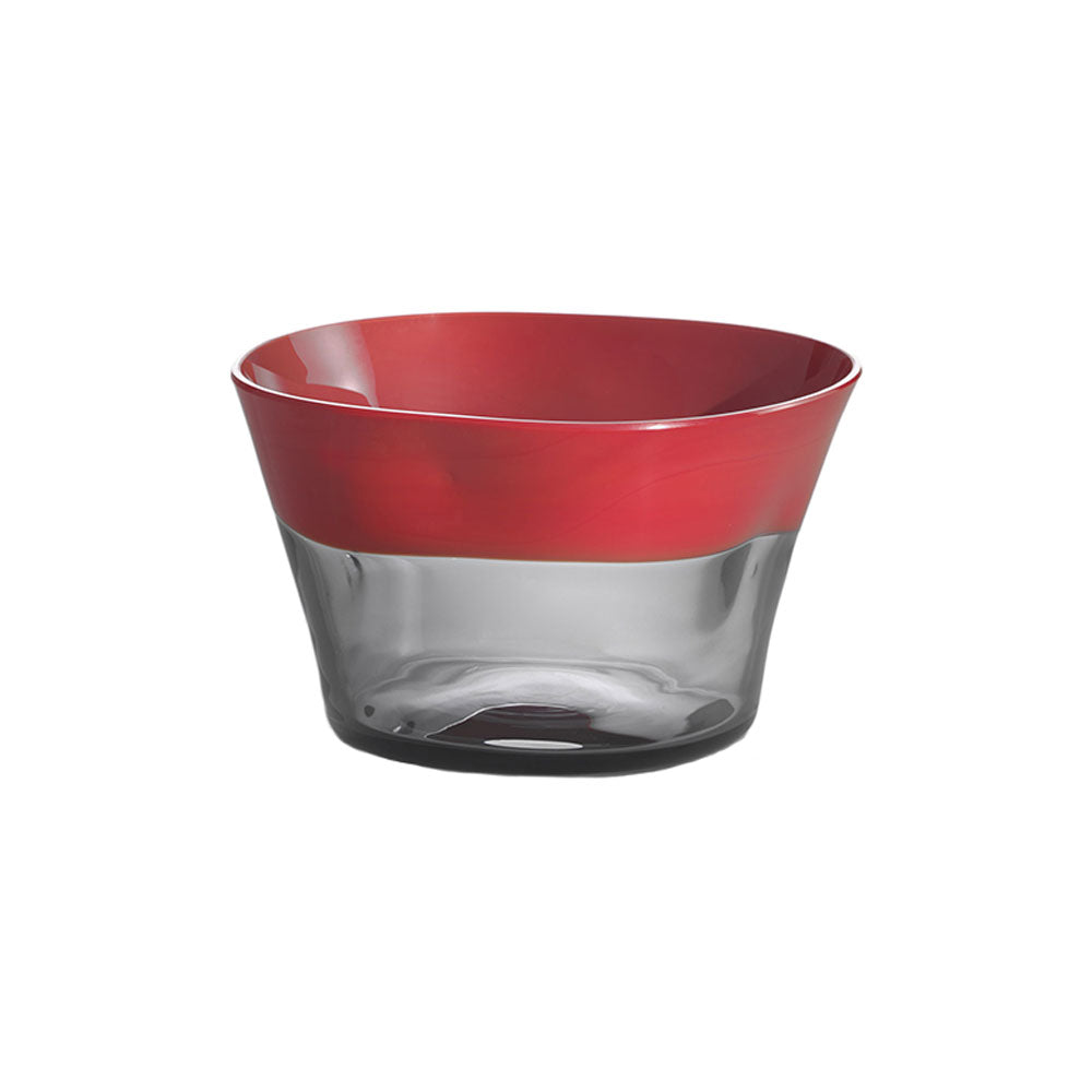 Nason Moretti Coral with Gray Dandy Bowl