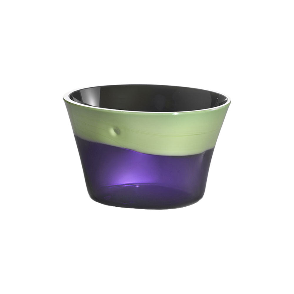 Nason Moretti Green Pea with Periwinkle Dandy Bowl