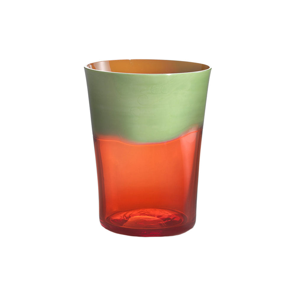 Green Pea with Orange Dandy Tumbler
