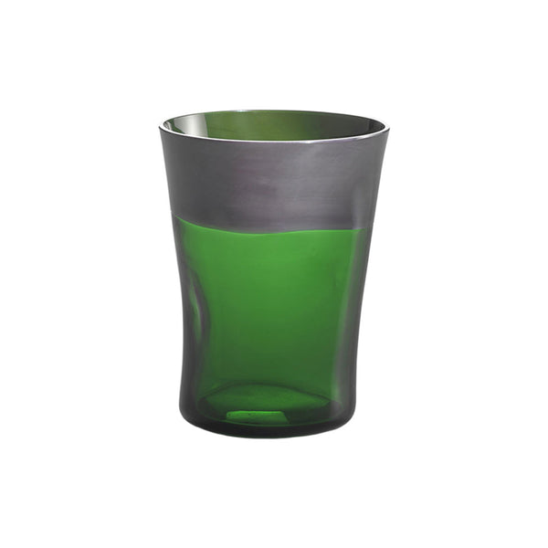Nason Moretti Gray with Green Dandy Tumbler