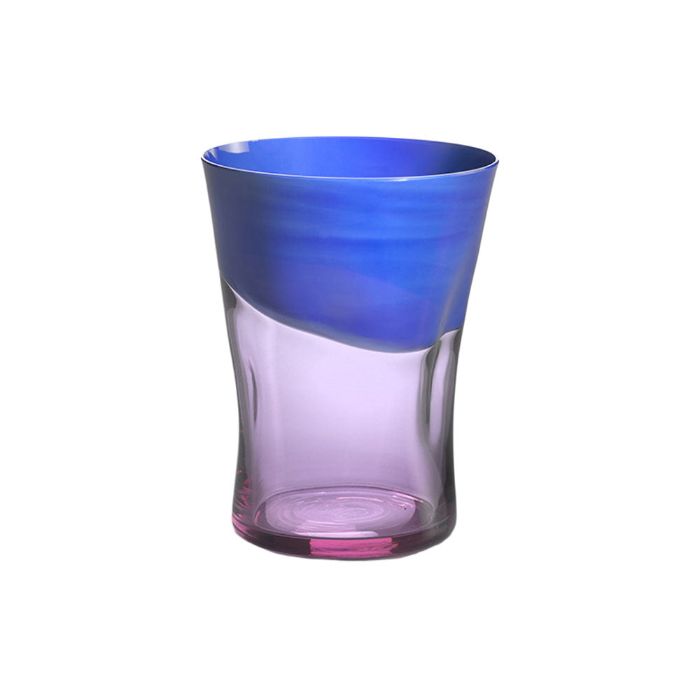 Blue with Peach Dandy Tumbler