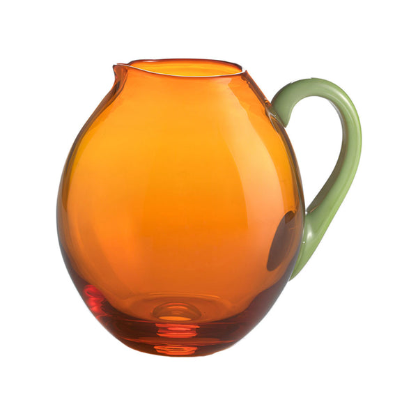Green Pea with Orange Dandy Pitcher