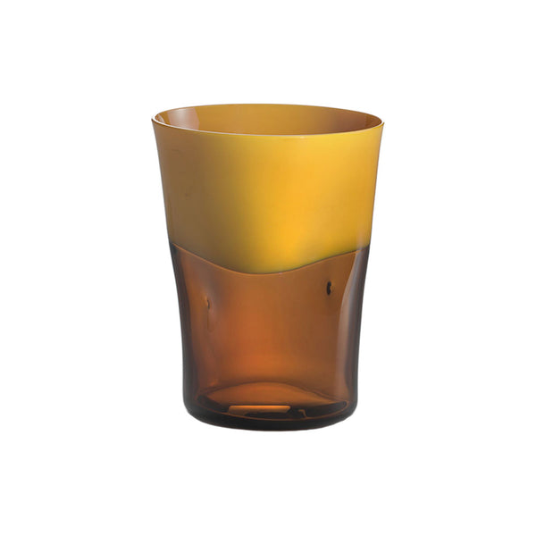Yellow with Brown Dandy Tumbler