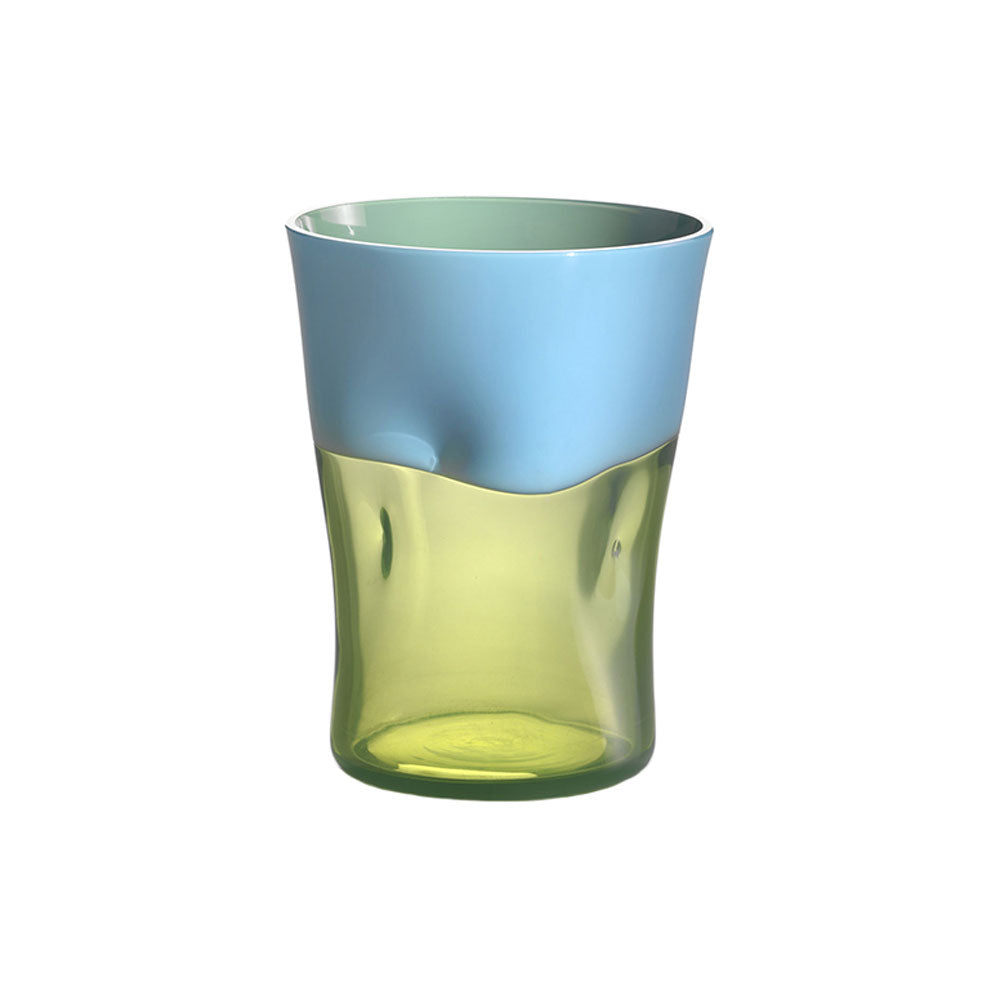 Nason Moretti Light Blue with Acid Green Dandy Tumbler