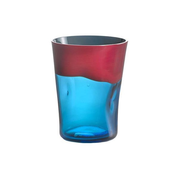 Coral with Aquamarine Dandy Tumbler