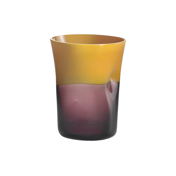 Nason Moretti Yellow with Violet Dandy Tumbler