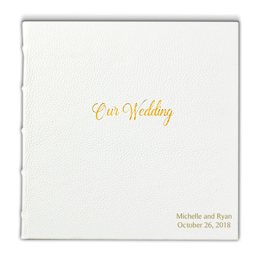 White Wedding Book