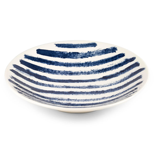 1882 Ltd. Indigo Rain - Large Serving Bowl