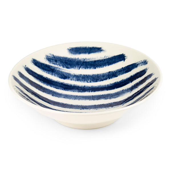 1882 Ltd. Indigo Rain - Medium Serving Bowl