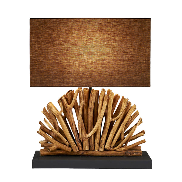 Continental Home Eucalyptus Branch Table Lamp