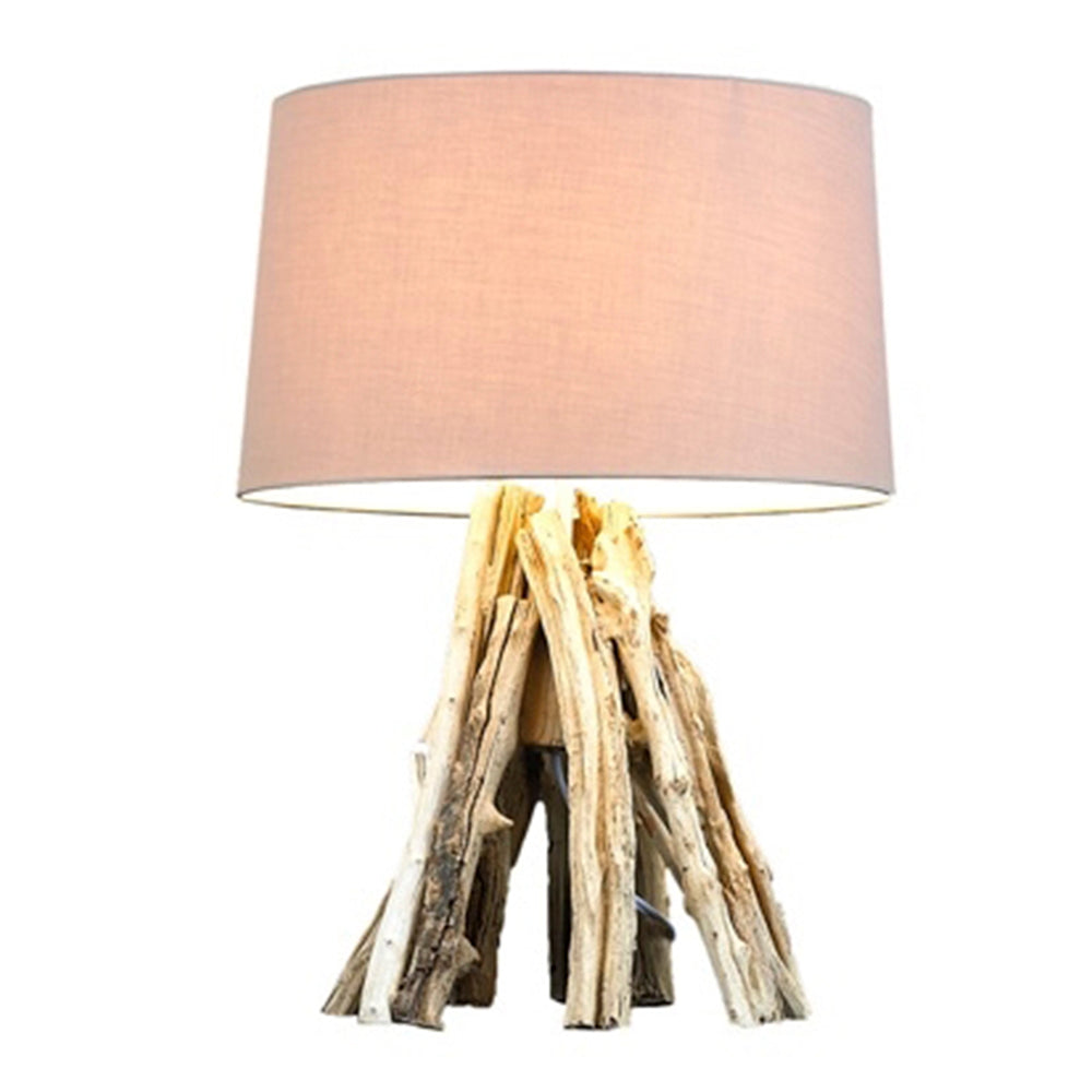 Natural Driftwood Table Lamp