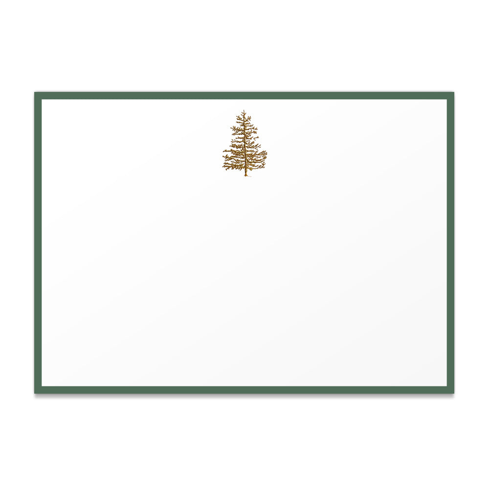 Fir Tree Thank You Notes