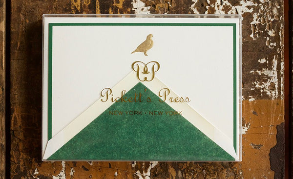 Quail Thank You Notes