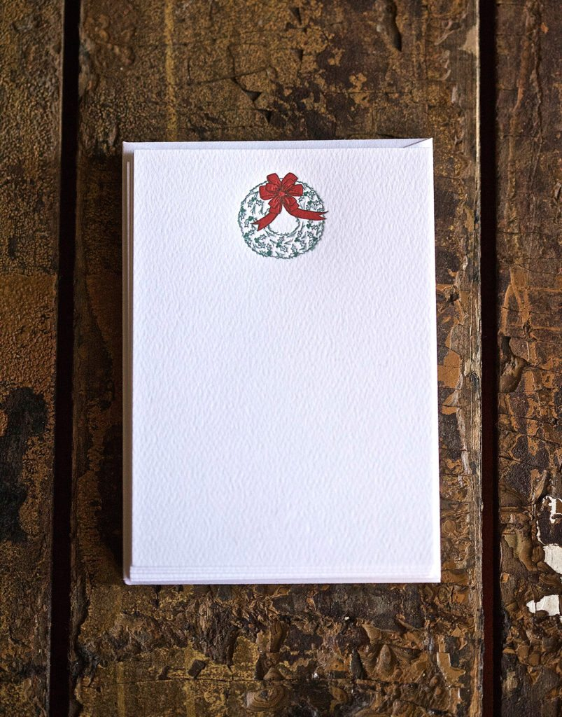 Holiday Wreath Note Cards