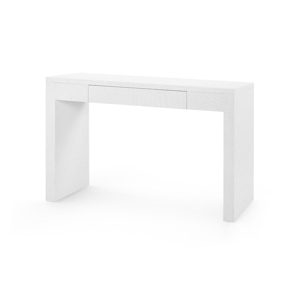 Morgan Grasscloth Console Table