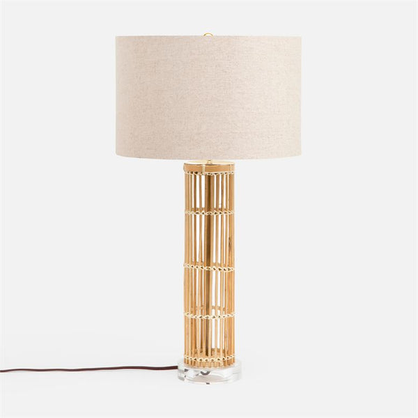 Made Goods Poppy Bamboo Table Lamp