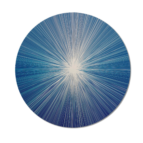 Graphic Lines Cobalt Placemat