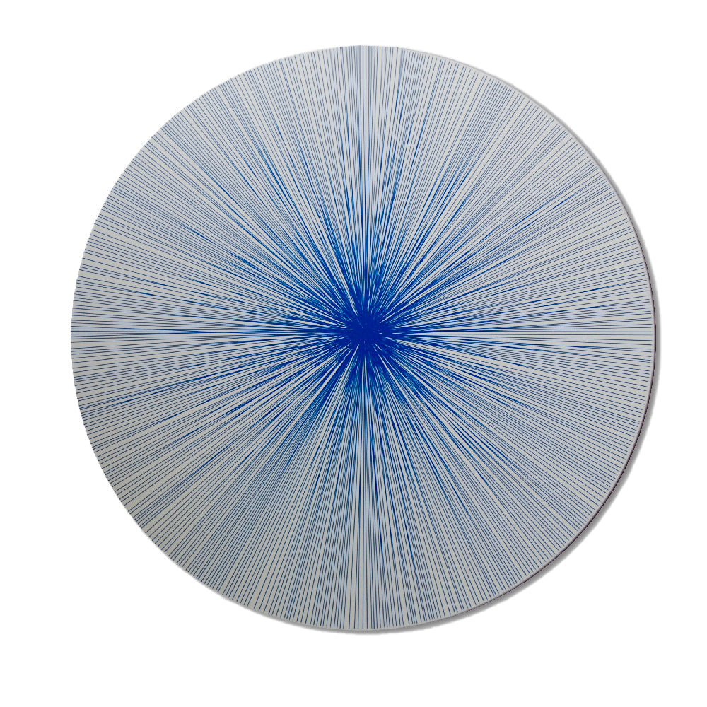 Tisch New York Shadow Lines Cobalt Placemat