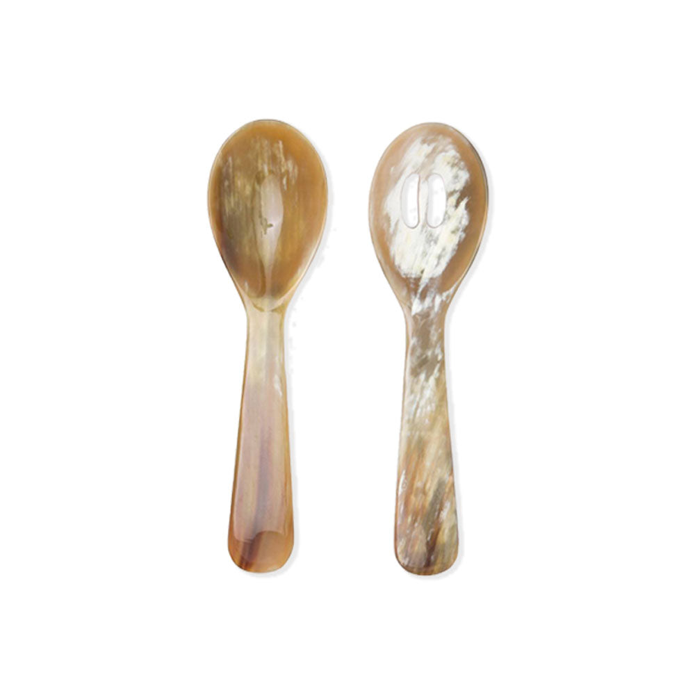 Gala Natural 2-Piece Serving Spoon Set