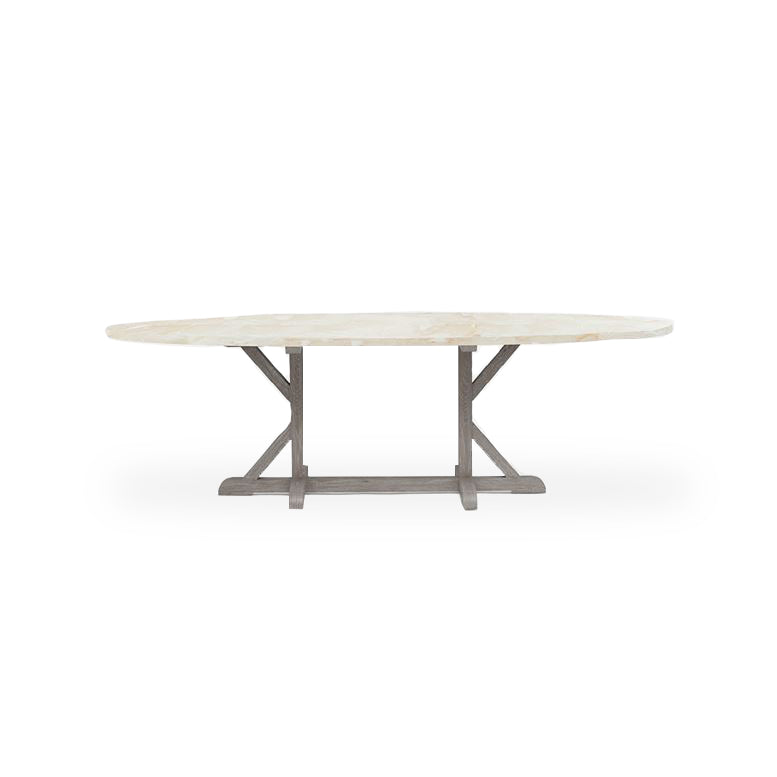 Made Goods Dane Oval Dining Table