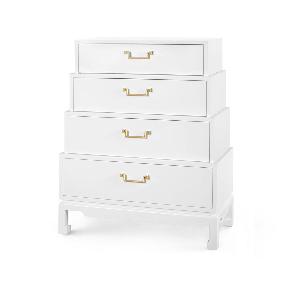 Bungalow 5 Jasmine Tall 4-Drawer