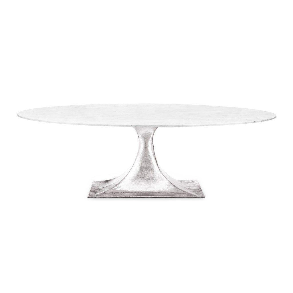 "Bungalow 5 Stockholm 95"" Oval Table Top"