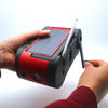 RunningSnail Solar Powered Hand Crank AM/FM/NOAA Weather Alert Radio